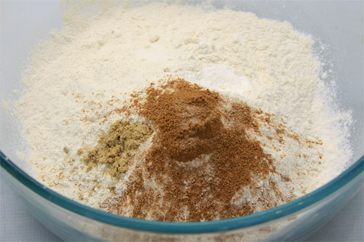 the dry ingredients